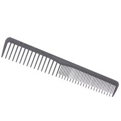 Eurostil grzebień fryzjerski Carbon 2214 - 17,5 cm