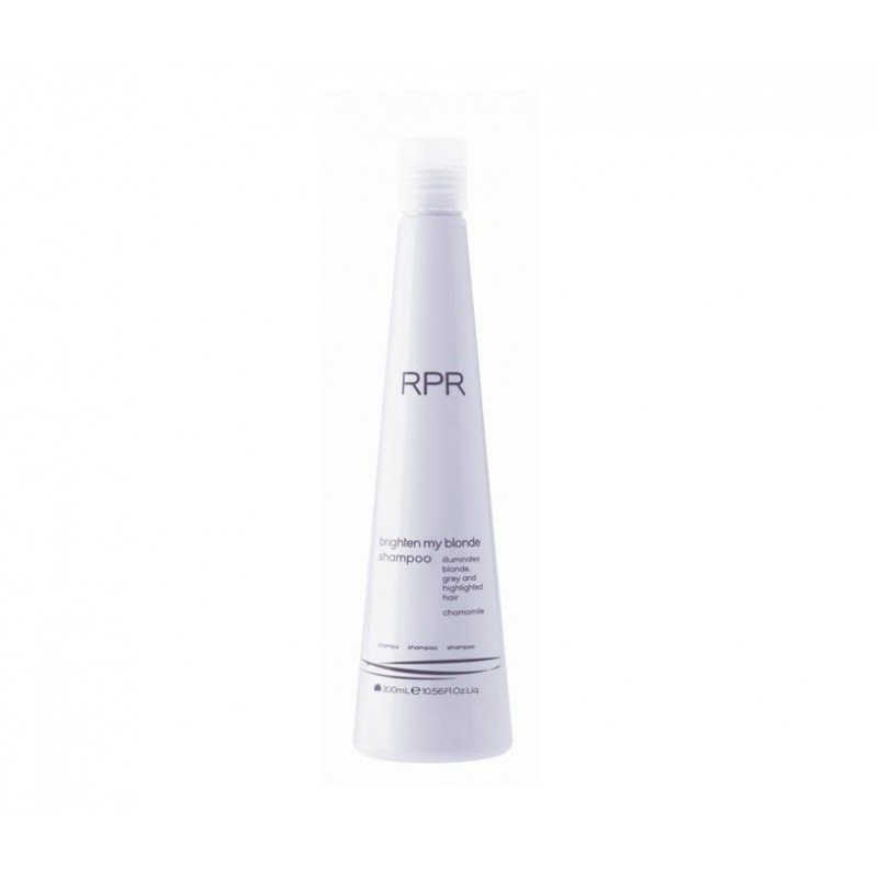 RPR Hair Care brighten my blonde shampoo szampon do włosów blond z płukanką 300ml